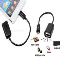Kabel OTG Micro USB / On The Go untuk Samsung Blackberry Oppo Android