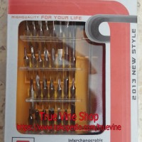 Obeng Set 32 In 1 (Obeng Tool Set Multifungsi & Serbaguna)