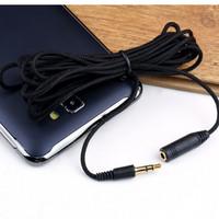 harga Aux Extender 3 Meter - Black Kabel Pemanjang Audio Aux Tokopedia.com