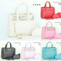 a)  Charles&keith Monami 3in1 CL006#