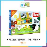 Mainan Anak Edukasi: Puzzle Edukasi The Farm