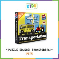 Mainan Anak Edukasi: Puzzle Edukasi Transportasi