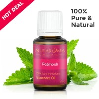 Patchouli Essential Oil (Minyak Nilam) - 10ml | 100% Pure Natural