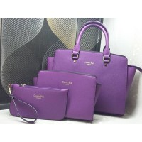 Tas Import Fashion Wanita Classic Bag 1 Set isi 3 Item