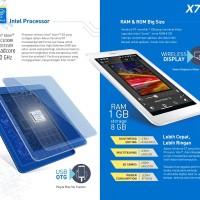 harga Advan Vandroid X7 Intel Atom X3 Quadcores 1Ghz | 3G | Android Lollipop Tokopedia.com