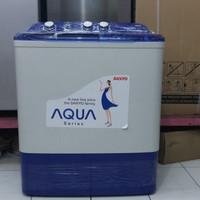 Mesin Cuci AQUA QW 870XT, 8kg Dari SANYO Murah