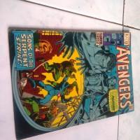 Komik Impor Jadul The Avengers 73 1970