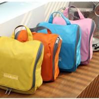 harga Korean Waterproof Toiletries/Kosmetik Organizer Bag Tas Travel Shower Tokopedia.com