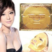 CRYSTAL COLLAGEN FACE GOLD MASK / GOLD FACE MASK / MASKER COLLAGEN