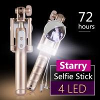 harga Tongsis Monopod Noosy Night Sky Wired Selfie Stick Mirror Led Light Tokopedia.com