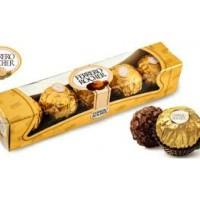 Ferrero Rocher T5 Coklat Ferrero isi 5pcs Hadiah Valentine