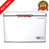 Chest Freezer - Freezer Box Sanken SRF-C260F - Kap 260 Liter