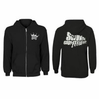 jaket hoodie half zipper 5sos / 5 seconds of summer