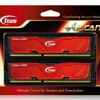 Ram Team Xtreem Vulcan DDR3 PC12800 16GB 2X8GB Dual Channel Kit