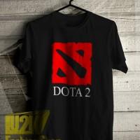 KAOS DOTA 2 LOGO GAME PC ACTION ONLINE PERMAINAN PERANG DISTRO L2K 361