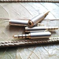 Konnverter Converter 2.5mm Female 4 Pole 3.5mm Male 4 Pole