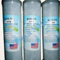 Jual CTO Kolon - Filter Cartridge - Karbon Blok - Filter Air Murah