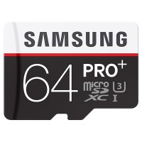 harga Samsung Micro SD PRO+ 64GB Memory Card w/ Adapter U3 Tokopedia.com
