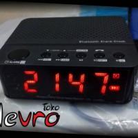 Speaker Bluetooth bisa Jam Digital, Alarm, Micro SD dan Line In