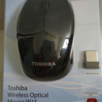 TOSHIBA Mouse Wireless W15