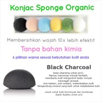 O'Life Konjac Sponge Black Charcoal