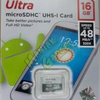 harga Jual Sandisk Ultra Microsdhc / Micro Sd 16 Gb Class 10 Uhs-i 48 Mb/s Tokopedia.com
