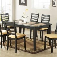meja makan, jual meja makan, kayu jati dan kayu mahogany solid