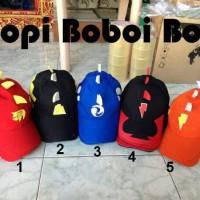 topi boiboi boy /boboi /boboy pesan/pake nama