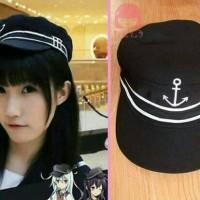harga Topi Sailor Hibiki Kancolle Kantai Collection Hat Cap Jepang Cosplay Tokopedia.com