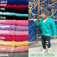 [SALE] BABY BASIC CARDIGAN ANAK RAJUT MURAH