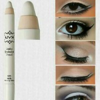 nyx jumbo eye pencil warna milk
