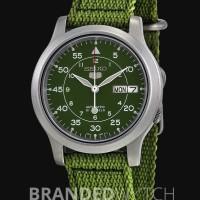 Seiko 5 SNK805K2 Green Silver