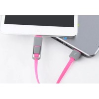 2in1 USB Data Cable Micro USB Cable For Andirons / IOS