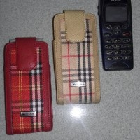dompet hp leather case nokia x2-01
