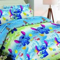 harga Sprei Katun Jepang 3d 180x200 Stitch Tokopedia.com