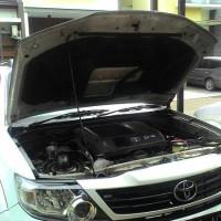EKLUSIVE HILUX DOUBLE CABIN 2014 peredam panas dan suara kap mesin