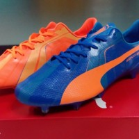Puma Evospeed SL Tricks Blue Orange [Sepatu Soccer] [Replika Import]