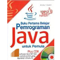 Buku Pertama Belajar Pemrograman Java Untuk Pemula