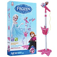 harga Mainan Anak STANDING MIC MICROPHONE FROZEN PINK TYPE 1 Tokopedia.com