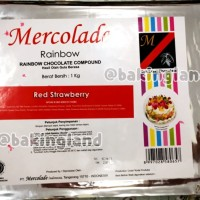 Mercolade coklat red strawberry