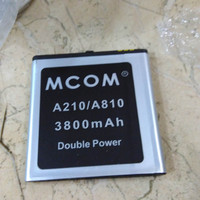 Baterai Battery Mito A210 A810 Dobel Power Mcom 5000mah