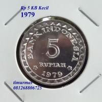 harga Uang Kuno Koin Rp 5 Tahun 1979 Tokopedia.com