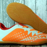 Sepatu Futsal Nike Elastico Finale III Orange Putih Anak (Bola,Nike)