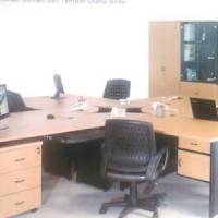 meja kerja Qd series( belum termasuk lemari arsip dan kursi)