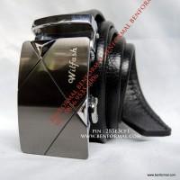 Gesper Kulit Wilfash Original Branded (High Quality) Buckle Batu Alam
