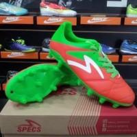 Sepatu Bola Specs Barricada Gurkha Signal Orange 100617 Original