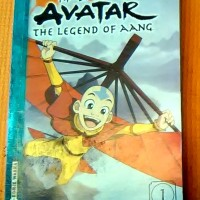 komik warna segel Avatar the legend of Aang seri 1