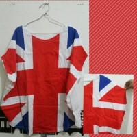 LONDON FLAG TEE - T-SHIRT BENDERA UK - KAOS ENGLAND
