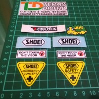 harga Sticker Visor Helm Shoei / Kaca Helm Helmet Tokopedia.com