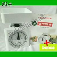 Timbangan Kue Royal Scale 3 Kg Lion Star